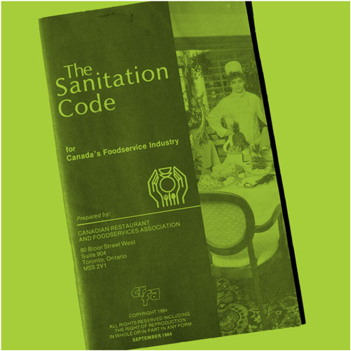 The Sanitation Code Booklet