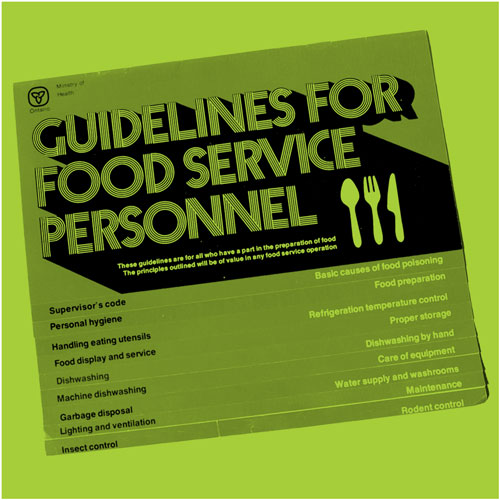Guidelines for Food Service Personnel