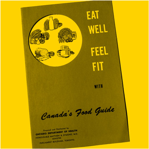 Eat Well and Feel Fit - Canada's Food Guide