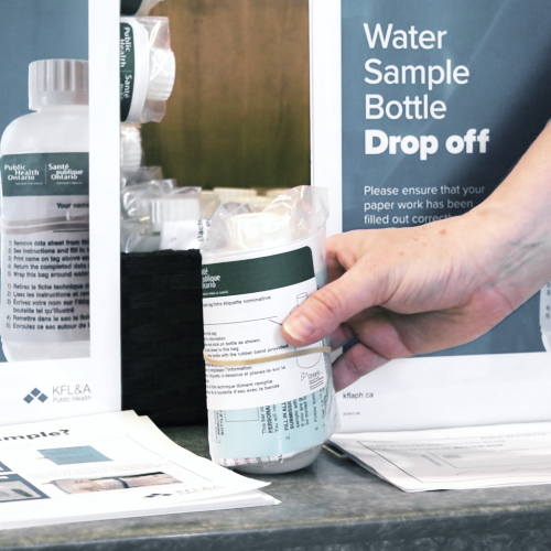 Water sample bottle