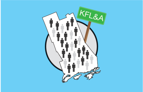 Map of KFL&A